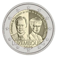 Luxembourg 2019 - 2 euro commémorative Charlotte