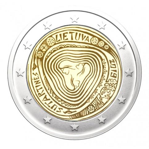 Lituanie 2019 - 2 euro commémorative Les sutartinés