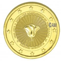 Grèce 2018 - 2 euro commémorative Dodécanèse dorée à l'or fin 24 carats