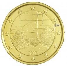 Finlande 2018 - 2 euro commémorative Sauna dorée à l'or fin 24 carats