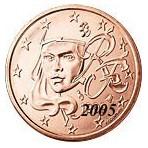 France 1 Cent  2005