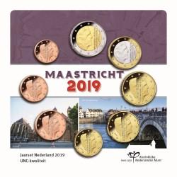 Pays-Bas 2019 - série complète euro neuve