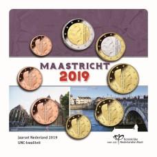Pays-Bas 2019 - série complète euro neuve sous blister