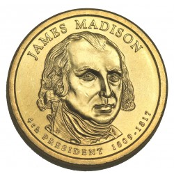 1 DOLLAR PRESIDENT  - James MADISON