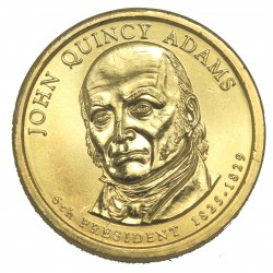 1 DOLLAR PRESIDENT  - John QUINCY ADAMS