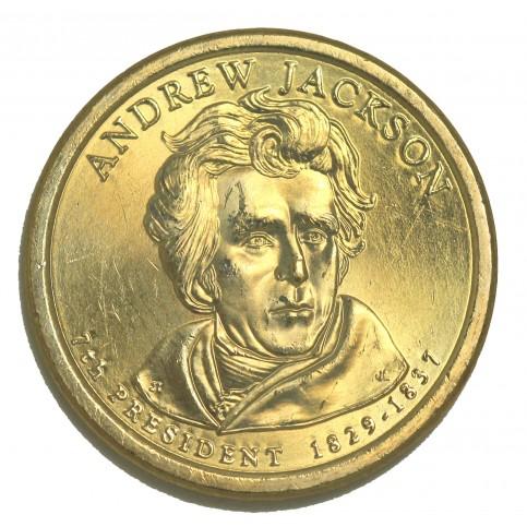 1 DOLLAR PRESIDENT  - Andrew JACKSON