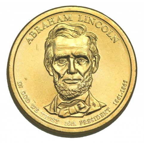 1 DOLLAR PRESIDENT  - Abraham LINCOLN