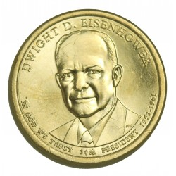 1 DOLLAR PRESIDENT  - Dwight D. EISENHOWER