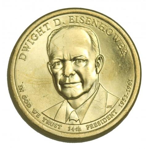1 DOLLAR PRESIDENT  - Dwight D. EISENHOWER