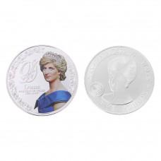 Médaille commémorative Lady Diana argentée