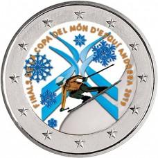 Andorre 2019 - 2 euro commémorative en couleur