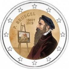 Belgique 2019 - 2 euro commémorative en couleur