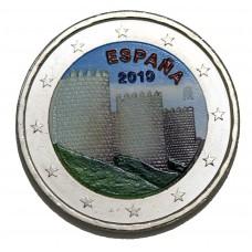 Espagne 2019 - 2 euro commémorative en couleur
