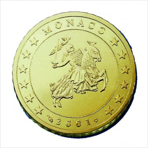 Monaco 10 Cents  Prince Rainier