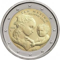 Saint Marin 2019 - 2 euro commémorative Filippo Lippi