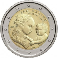 Saint Marin 2019 - 2 euro commémorative Filippo Lippi