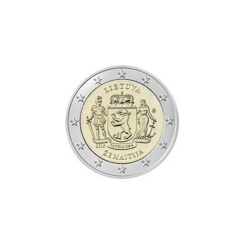 Lituanie 2019 - 2 euro commémorative Zemaitija