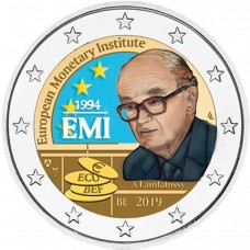 Belgique 2019 EMI - 2 euro commémorative en couleur