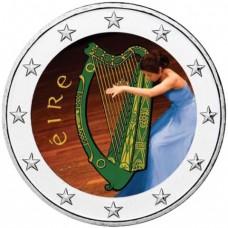 Irlande 2019 Harppiste - 2 euro commémorative en couleur