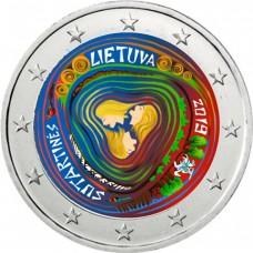 Lituanie 2019 Sutartines - 2 euro commémorative en couleur