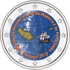 Portugal 2019 Madére - 2 euro commémorative en couleur