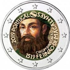 Portugal 2019 Magellan - 2 euro commémorative en couleur