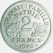 Deux Francs FRANCISQUE