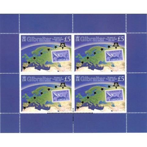 Gibraltar - Bloc feuillet Europa 2006