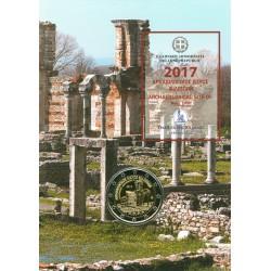 Grèce 2017 Coincard - 2 euro commémorative Philippi