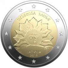 Lettonie 2019 - 2 euro commémorative Soleil Levant