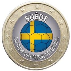 Football - 1 euro domé Suéde