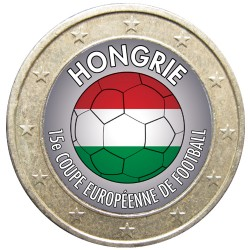 Football - 1 euro domé Hongrie