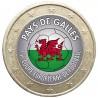 Football - 1 euro domé Pays de Galles