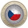 Football - 1 euro domé République Tchéque