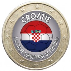 Football - 1 euro domé Croatie
