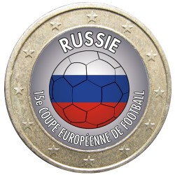 Football - 1 euro domé Russie