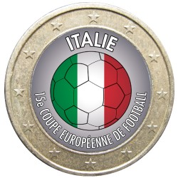 Football - 1 euro domé Italie