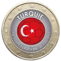 Football - 1 euro domé Turquie