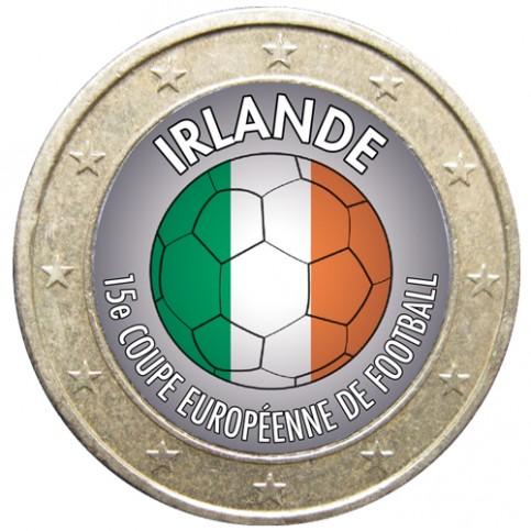 Football - 1 euro domé Irlande
