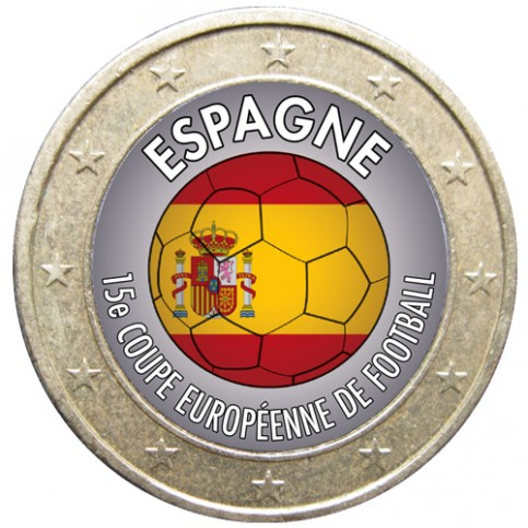 Football - 1 euro domé Espagne