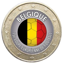 Football - 1 euro domé Belgique