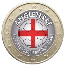 Football - 1 euro domé Angleterre