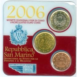 Saint Marin 2006 coincard