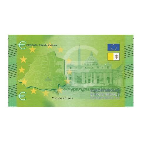 Vatican - Billet Thématique euro