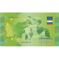 Slovénie - Billet Thématique euro