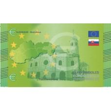 Slovaquie - Billet Thématique euro