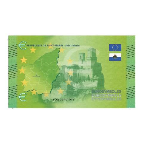 Saint Marin - Billet Thématique euro