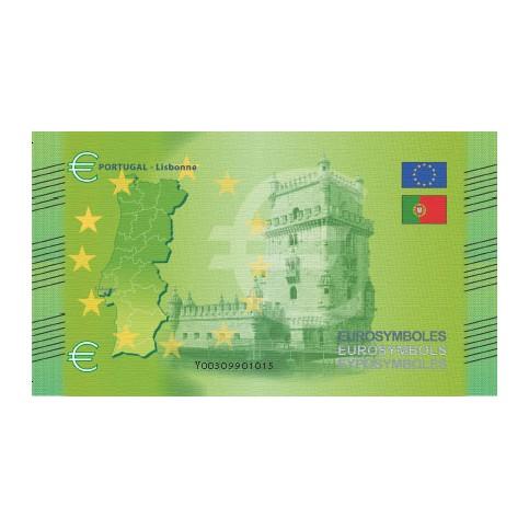 Portugal - Billet Thématique euro