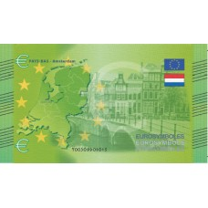 Pays Bas - Billet Thématique euro