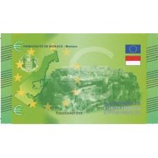 Monaco - Billet Thématique euro